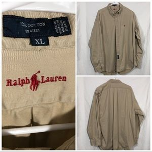 Polo Ralph Lauren Blaire Button Down size XL